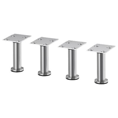 "CAPITA Leg, stainless steel, 4 1/2 """