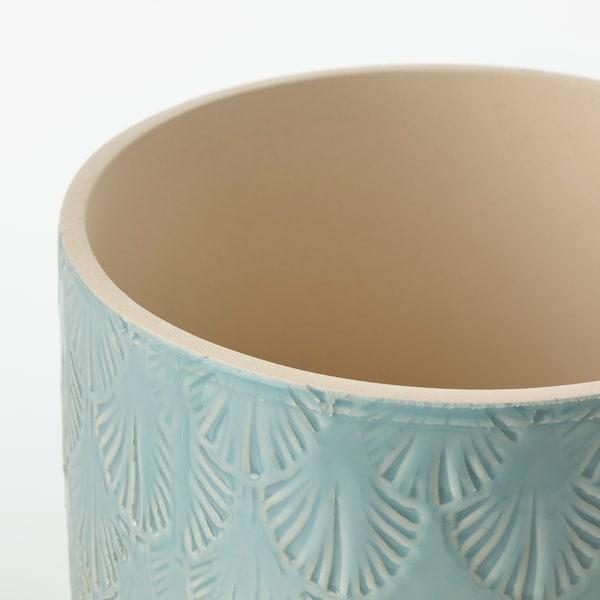 """CHIAFRÖN Plant pot, indoor/outdoor light blue, 4 ¾ """""""