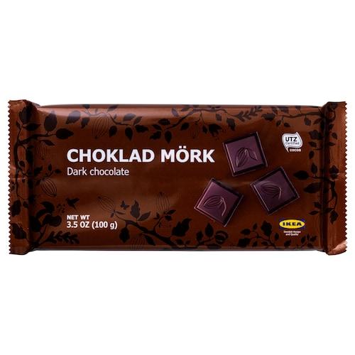 CHOKLAD MÖRK dark chocolate UTZ certified 3.5 oz