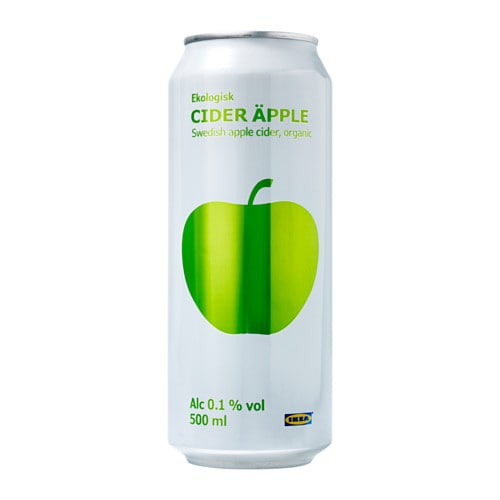 CIDER ÄPPLE Apple cider 0.1% IKEA Organic food production aims at sustaining farming practices that are better for people and the planet.