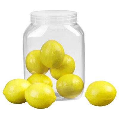 CITRUSDOFT Artificial fruit, lemon
