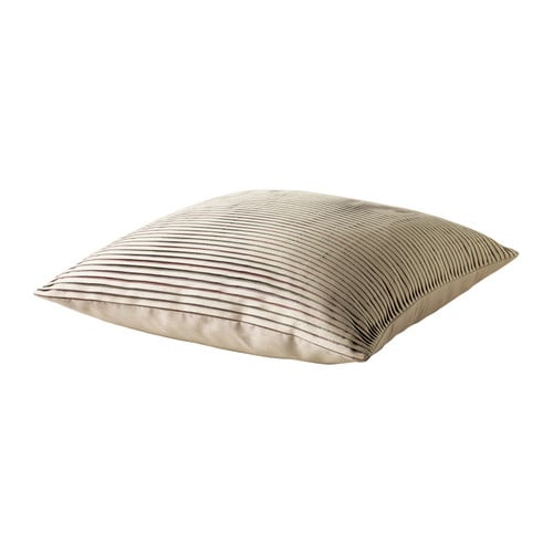 "DAGNY Cushion, light beige, multicolor Length: 18 "" Width: 18 "" Filling weight: 21 oz Total weight: 23 oz  Length: 45 cm Width: 45 cm Filling weight: 600 g Total weight: 660 g"