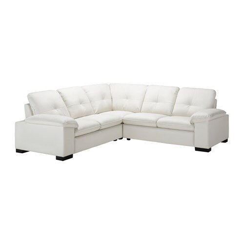 Ikea White Leather Couch Sofas: DAGSTORP Corner Sofa 2+2