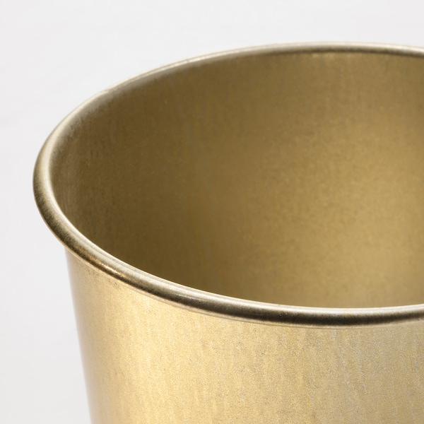 DAIDAI Plant pot, brass color, 4 ¼ ""