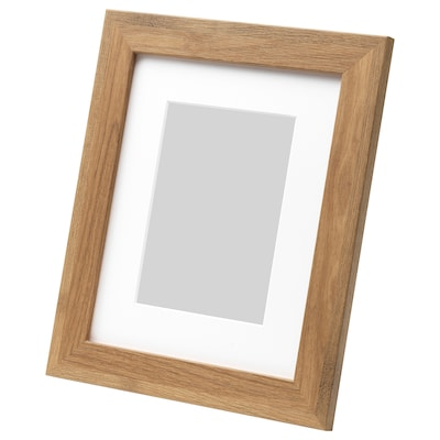 DALSKÄRR Frame, wood effect/light brown, 8x10 ""