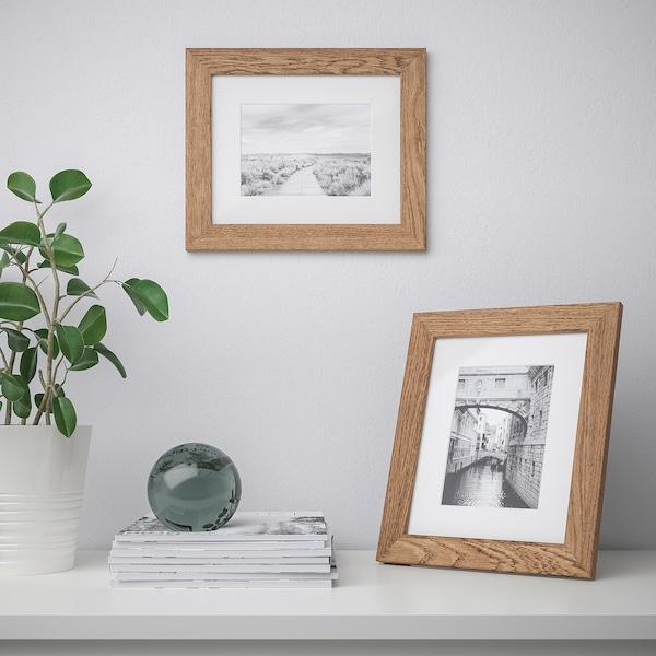 """DALSKÄRR Frame, wood effect/light brown, 8x10 """""""