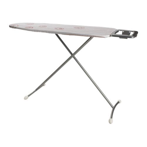 DÄNKA Ironing board IKEA Variable height adjustment; adjust as needed.