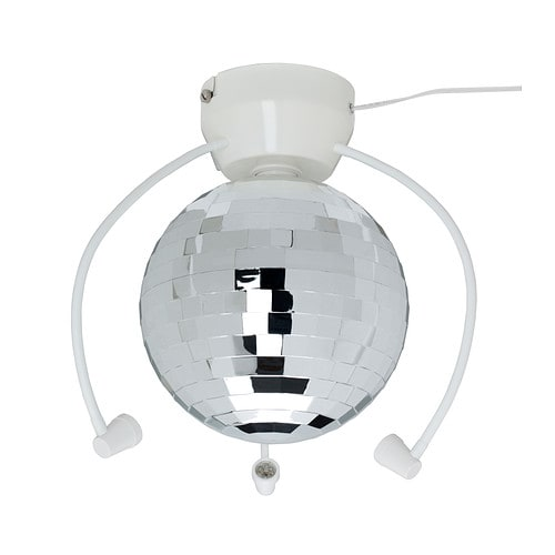 dansa disco ball with led light ikea
