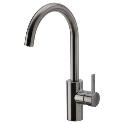 DELSJÖN Kitchen faucet, pewter effect