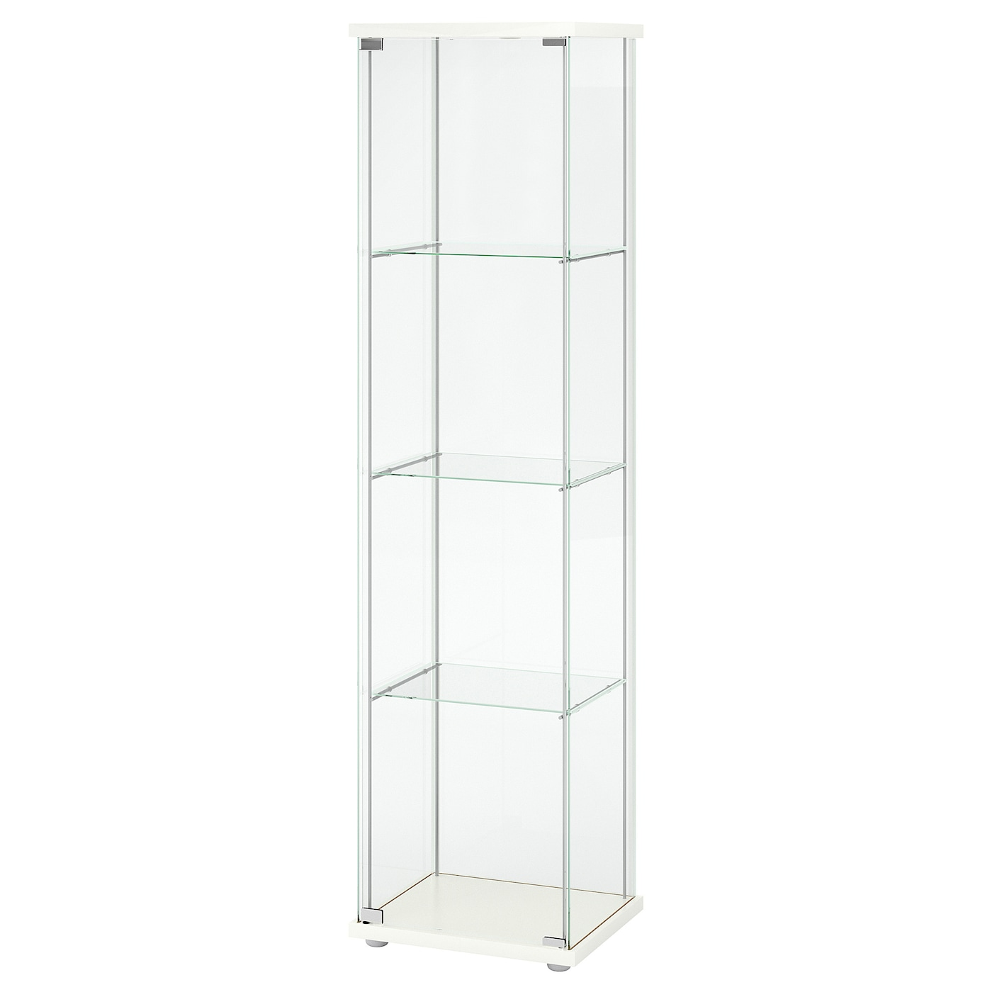 DETOLF Glass door cabinet   white 20 20/20x620 20/20