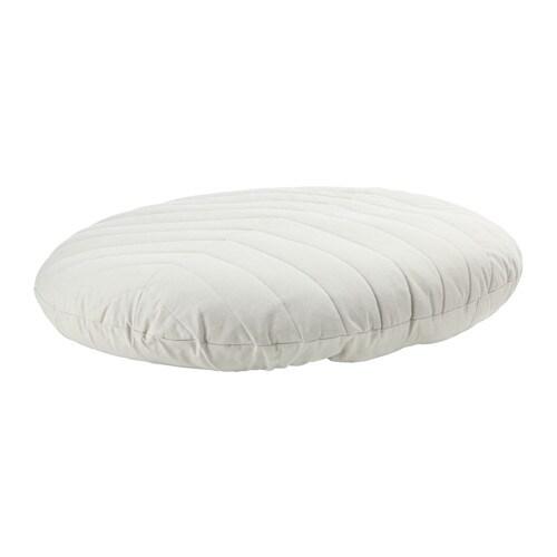 DIHULT Floor pillow, Katorp natural Katorp natural