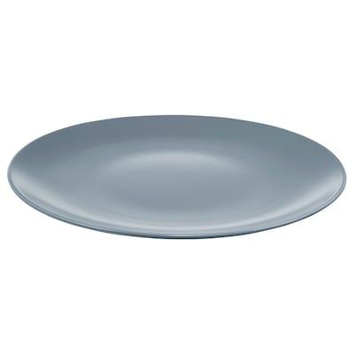 "DINERA Plate, gray-blue, 10 """