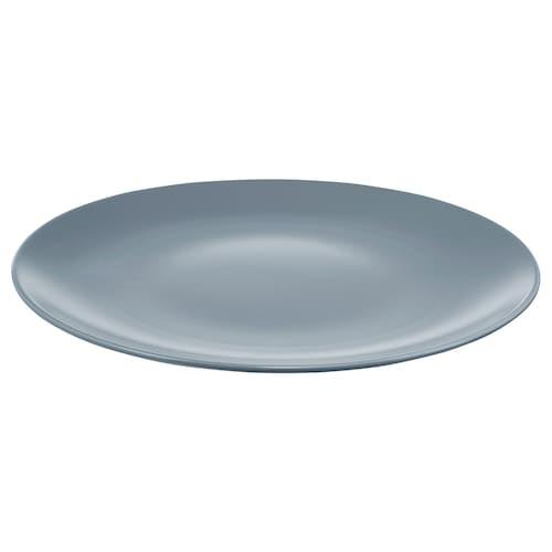 "DINERA plate gray-blue 10 """