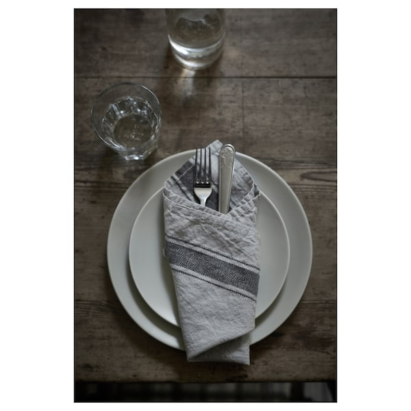 """DINERA Side plate, gray-blue, 8 """""""