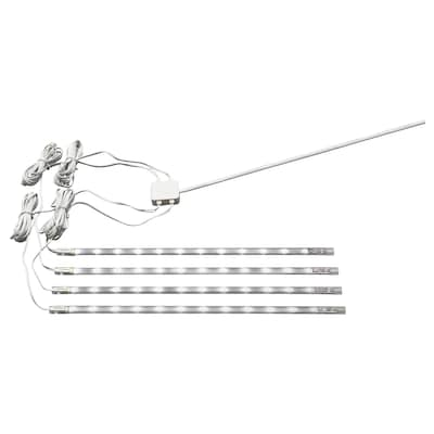 DIODER LED 4-piece light strip set, white