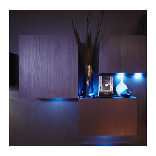 new ikea dioder four 4 disk multicolor programmable lighting set ebay. Black Bedroom Furniture Sets. Home Design Ideas