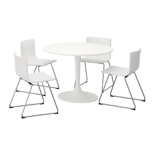 Exceptionnel DOCKSTA / BERNHARD Table And 4 Chairs