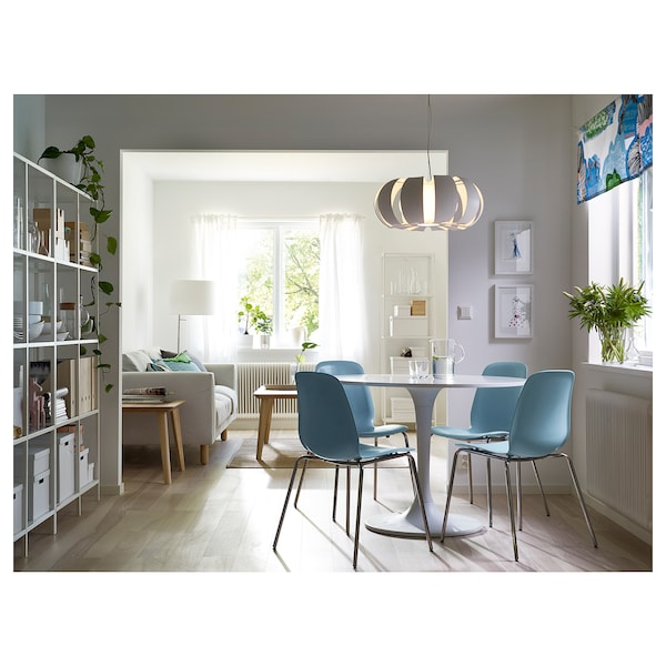 """DOCKSTA Table, white/white, 40 1/2 """""""