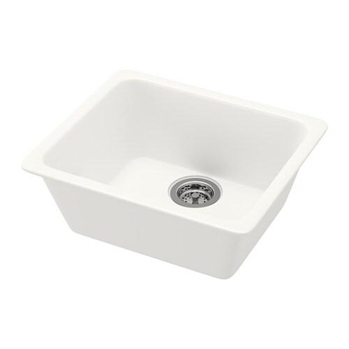 DOMSJÖ Sink, white