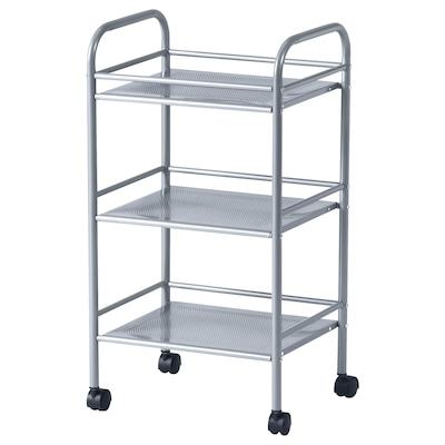"""DRAGGAN cart silver color 16 """" 12 5/8 """" 29 3/8 """""""