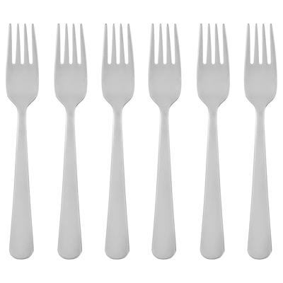 "DRAGON Salad/dessert fork, stainless steel, 6 """