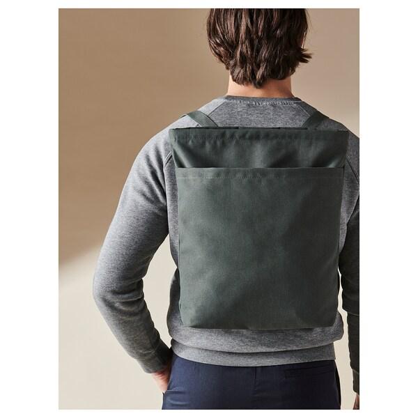 DRÖMSÄCK Tote bag, olive-green, 4 gallon