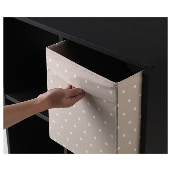 """DRÖNA Box, beige/dotted, 13x15x13 """""""