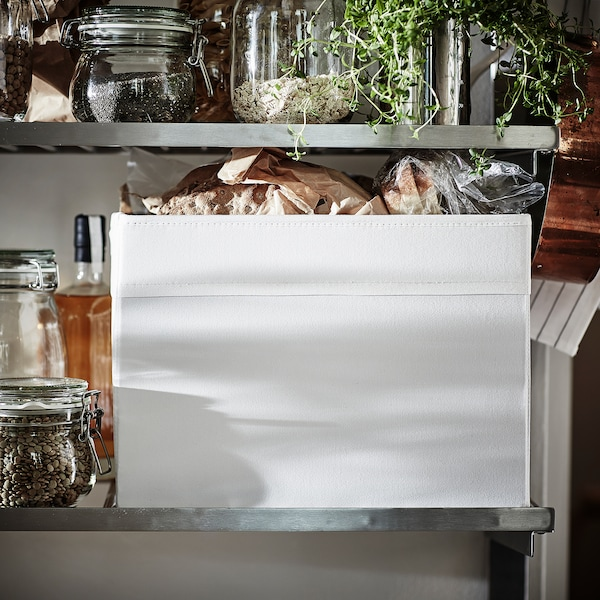 "DRÖNA Box, white, 9 ¾x13 ¾x9 ¾ """
