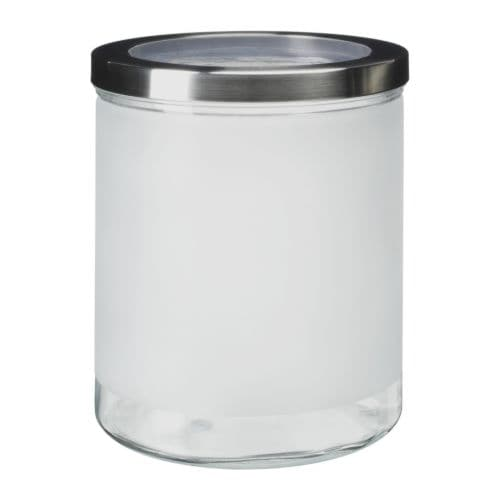 droppar jar with lid ikea. Black Bedroom Furniture Sets. Home Design Ideas