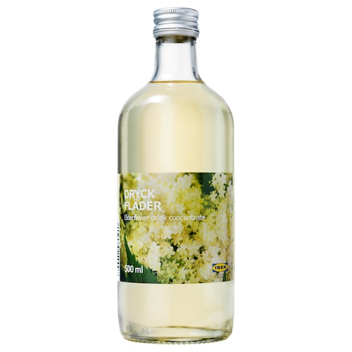 IKEA DRYCK FLÄDER Elderflower syrup