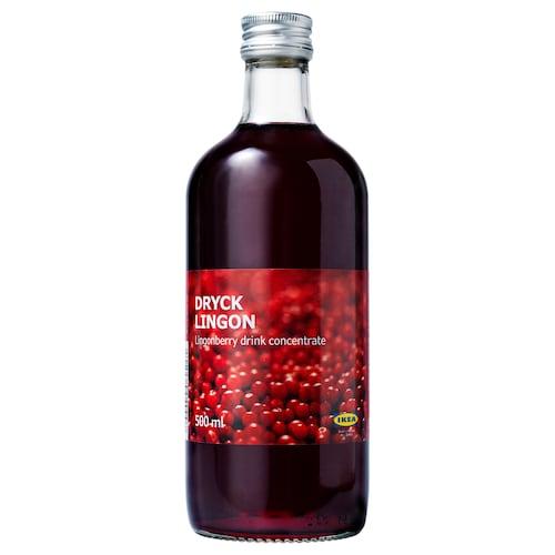 DRYCK LINGON lingonberry syrup 17 oz