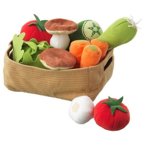 IKEA DUKTIG 14-piece vegetables set