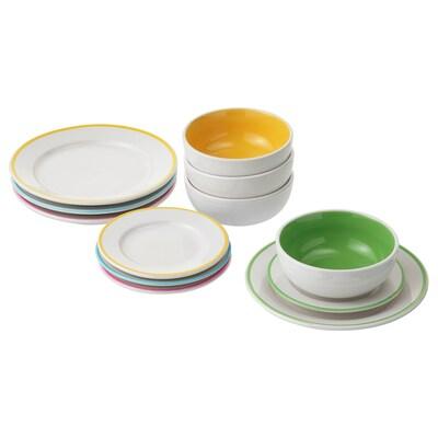 DUKTIG plate/bowl 12 pack