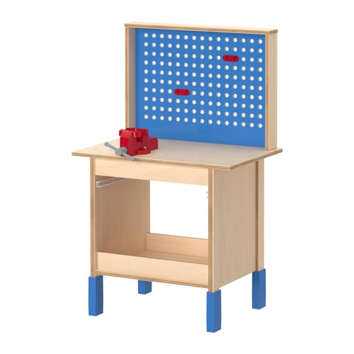 DUKTIG Work bench IKEA Encourages role play; children develop social skills by imitating grown-ups and inventing their own roles.
