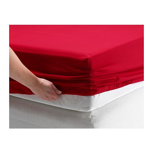 Dvala fitted sheet queen ikea - Drap housse king size ...