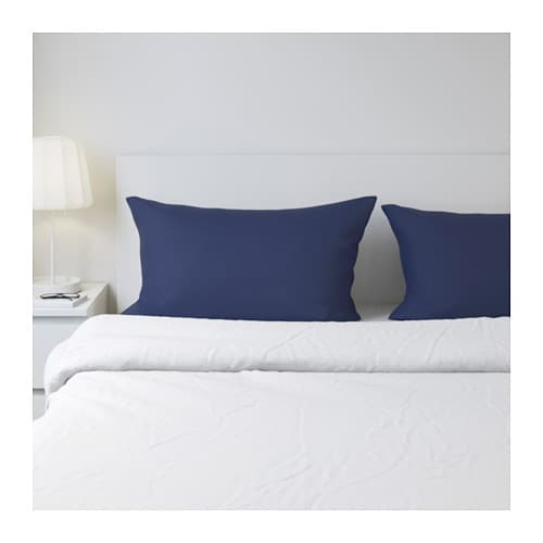 DVALA Pillowcase IKEA Cotton feels soft and nice against your skin.