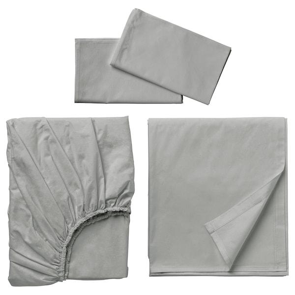 DVALA Sheet set, light gray, Queen