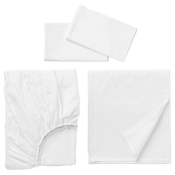 DVALA Sheet set, white, Queen