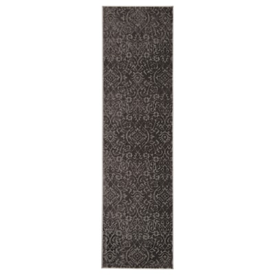 "DYNT Rug, low pile, gray, 2 ' 2 ""x7 ' 10 """