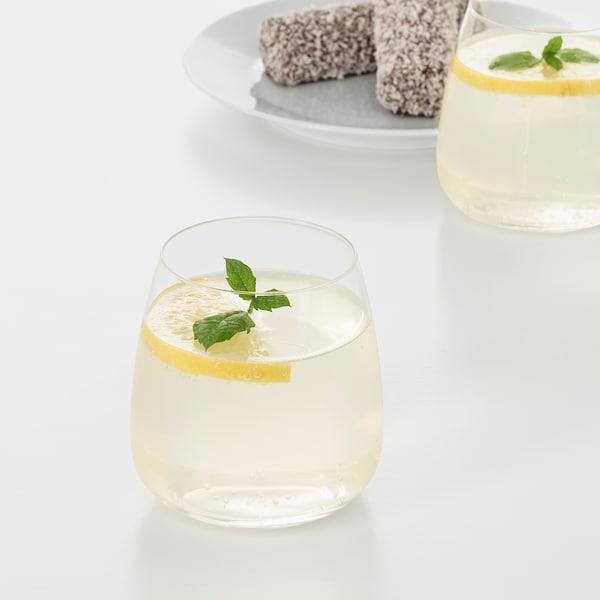 DYRGRIP Glass, clear glass, 12 oz