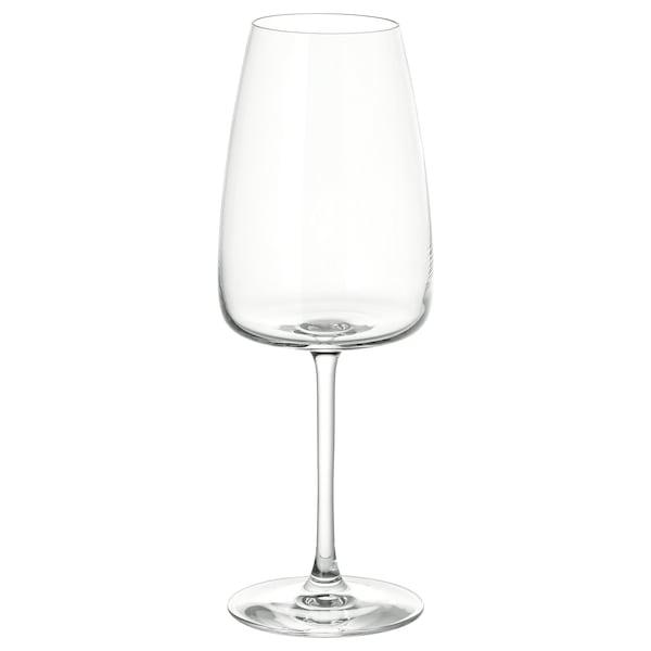 DYRGRIP White wine glass, clear glass, 14 oz