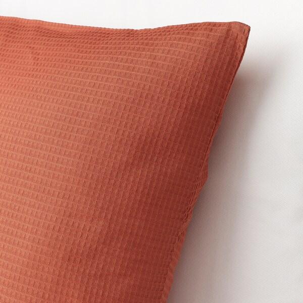 "EBBATILDA Cushion cover, rust, 20x20 """