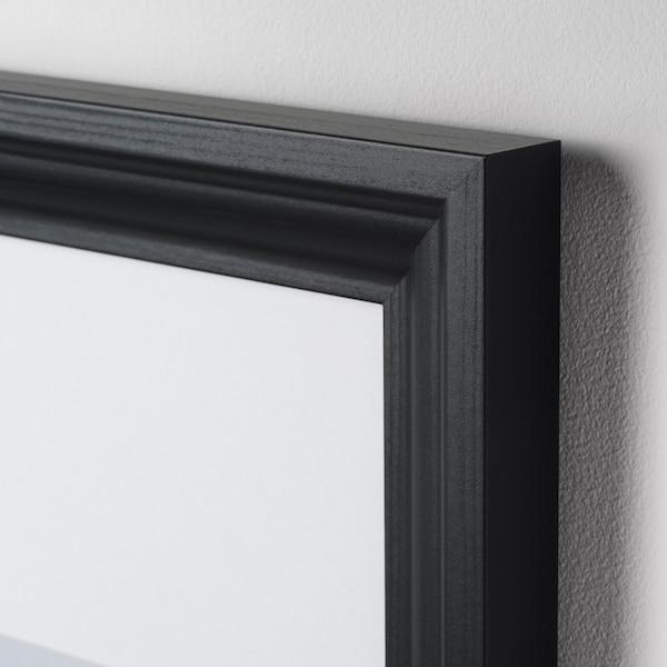 """EDSBRUK Frame, black stained, 24x35 ¾ """""""