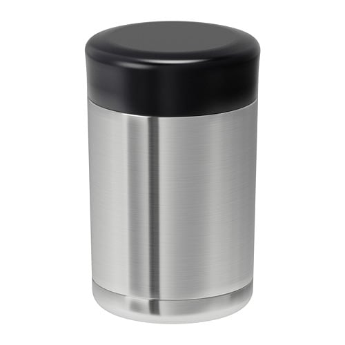 EFTERFRÅGAD - Vacuum food container, stainless steel