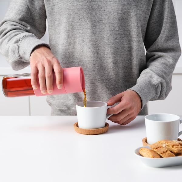 EFTERSTRÄVA Travel mug, pink, 17 oz