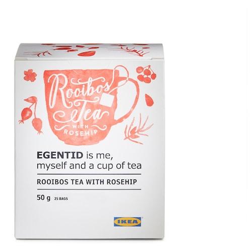 EGENTID rooibos tea rosehip/UTZ certified 2 oz