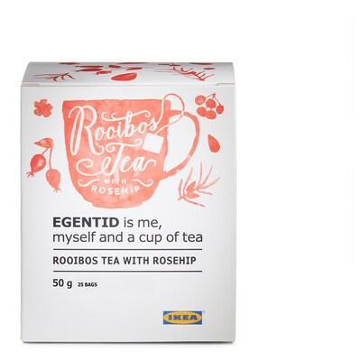 EGENTID Rooibos tea, rosehip/UTZ certified, 2 oz
