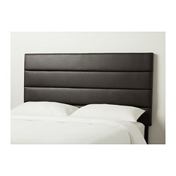 EIDSBERG headboard, Bomstad dark brown