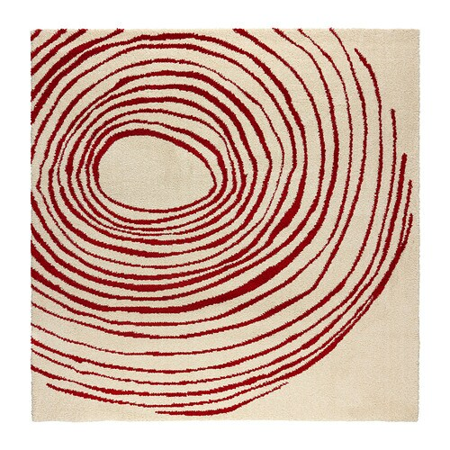 Eivor Cirkel Rug High Pile Ikea