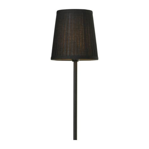 EKÅS Shade IKEA Fabric shade gives a diffused and decorative light.